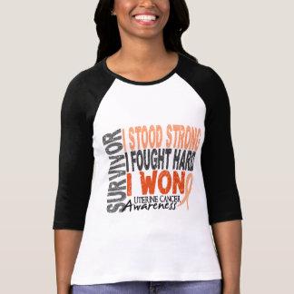 Uterine Cancer Survivor 4 Tshirt