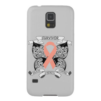 Uterine Cancer Survivor Butterfly Strength Galaxy S5 Cover