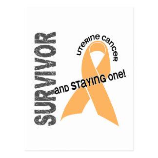 Uterine Cancer Survivor Postcard