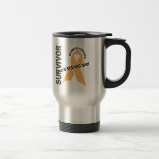 Uterine Cancer Survivor Travel Mug