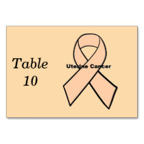 Uterine Cancer Table Number