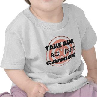 Uterine Cancer Take Aim Against Cancer T Shirt