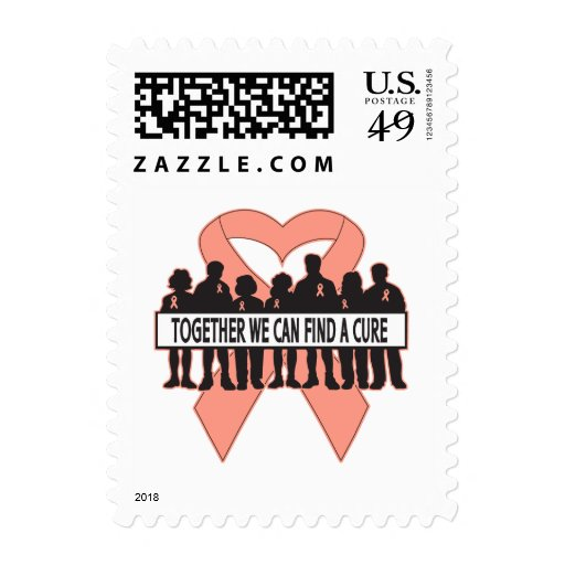 Uterine  Cancer Together We Can Find A Cure Postage
