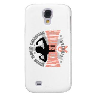 Uterine Cancer Tough Survivor Galaxy S4 Cover