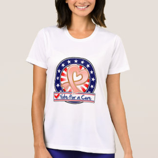 Uterine Cancer Vote For a Cure T-shirts