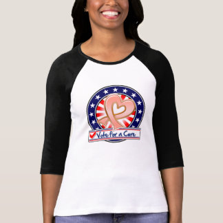 Uterine Cancer Vote For a Cure Tshirts
