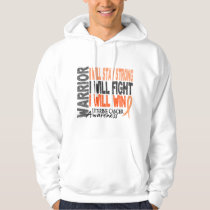 Uterine Cancer Warrior Hoodie