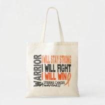 Uterine Cancer Warrior Tote Bag