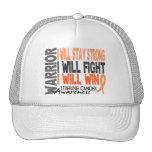 Uterine Cancer Warrior Trucker Hats