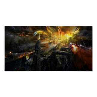 Utherworlds Battlestar Print