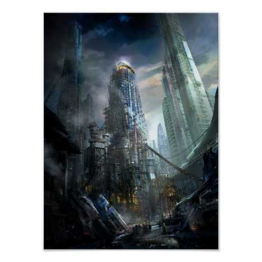 Utherworlds: Industrialize Poster