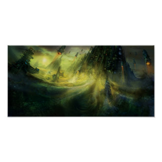 Utherworlds: Monolito Poster
