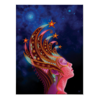 Utherworlds: Reina celestial Póster