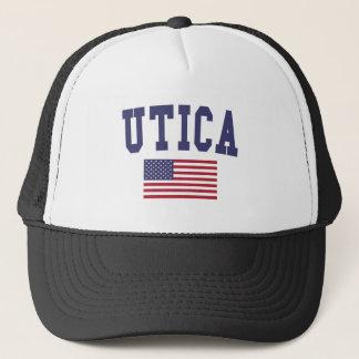 Utica US Flag Trucker Hat