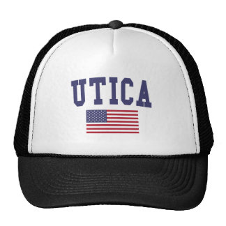 Utica US Flag Trucker Hat