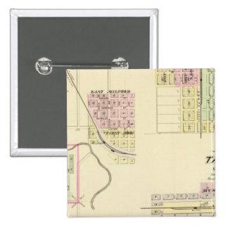 Utica y Milford, Nebraska Pin