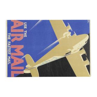 Utilice el correo aéreo, el correo más rápido salvamanteles