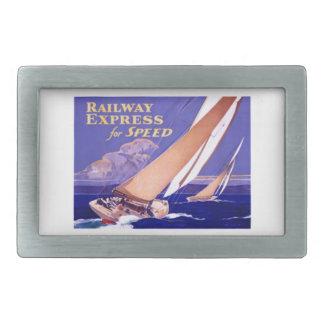 Utilice el ferrocarril expreso para la entrega hebilla cinturon rectangular
