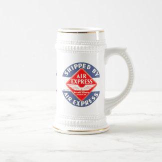 Utilice expreso de aire por la agencia expresa jarra de cerveza