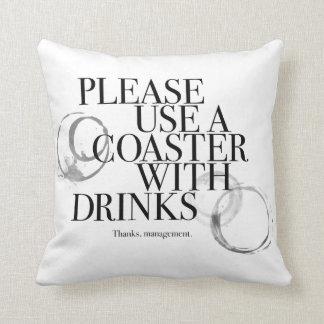 Utilice por favor un práctico de costa cojin