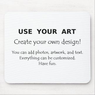 Utilice su arte crean sus propios diseños únicos tapetes de ratones