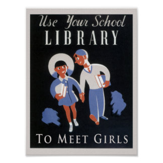 Utilice su biblioteca póster