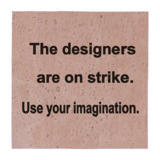 Utilice su diseño de la imaginación - fondo azul posavasos