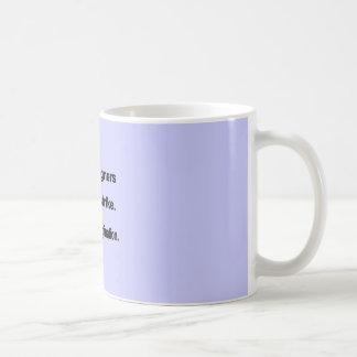Utilice su diseño de la imaginación - fondo azul taza de café