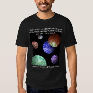Utilice su intuición - una camisa de la cita de la