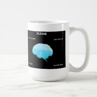 Utilice sus sinapsis taza básica blanca