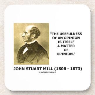 Utilidad de John Stuart Mill de una cita de la opi