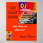 Utilidades de DJ Poster