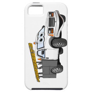 Utility Pick Up Truck Grey White Cartoon iPhone SE/5/5s Case