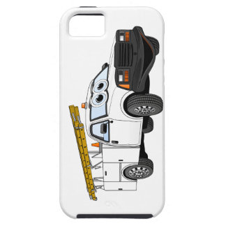 Utility Pick Up White Cartoon iPhone SE/5/5s Case