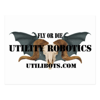 Utility Robotics Logo products Postcard
