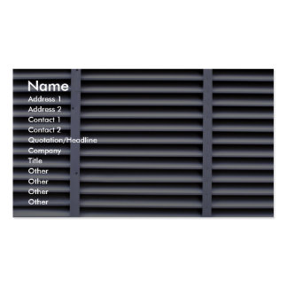 Utility vent Double-Sided standard business cards (Pack of 100)