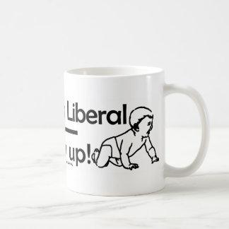 Utilizo para ser un liberal taza de café