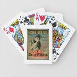 """""""Utilizó siempre, una vez que estuvo utilizado"""", l Baraja Cartas De Poker"""