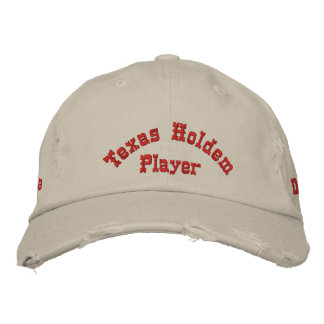 Utimate Poker Player Hat Embroidered Hat