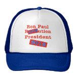 ¡Ution del AMOR de Ron Paul R! ¡Revolución 2012! Gorra