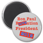 ¡Ution del AMOR de Ron Paul R! ¡Revolución 2012! Imanes