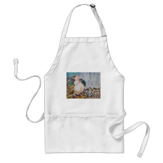 Utopia and Pip by Wendy C Allen Apron