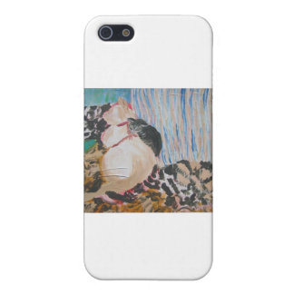 Utopia and Pip by Wendy C Allen Case For iPhone SE/5/5s