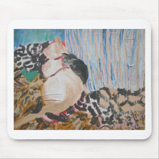 Utopia and Pip by Wendy C Allen Mouse Pad