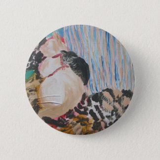 Utopia and Pip by Wendy C Allen Pinback Button