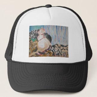 Utopia and Pip by Wendy C Allen Trucker Hat