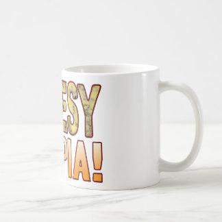 Utopia Blue Cheesy Coffee Mug
