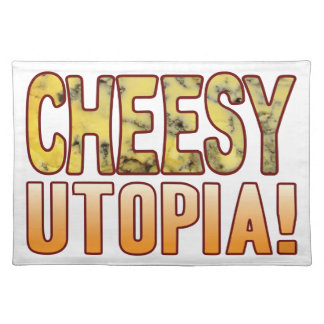 Utopia Blue Cheesy Placemat