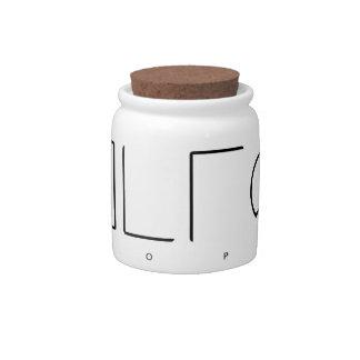 Utopia Candy Jar