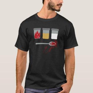 Utopia: Chillies, sand, bleach, a spoon. T-Shirt